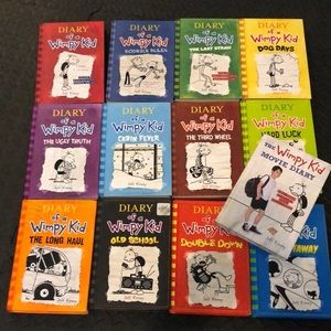 13 diary of a wimpy kid hardcover books.by kinney